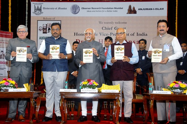 Vice-President-of-India-Mohd.-Hamid-Ansari-releasing-book-E2809CAUGUST-VOICES-E28093-What-they-said-on-14-15-August-1947E2809D-along-with-Sudheendra-Kulkarni-Vinod-Twde-Dr-Zaheer-Kazi.jpg